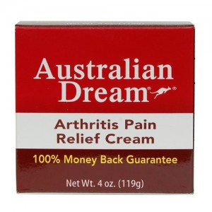 Australian Dream Arthritis Pain Relief Cream 4 Ounce