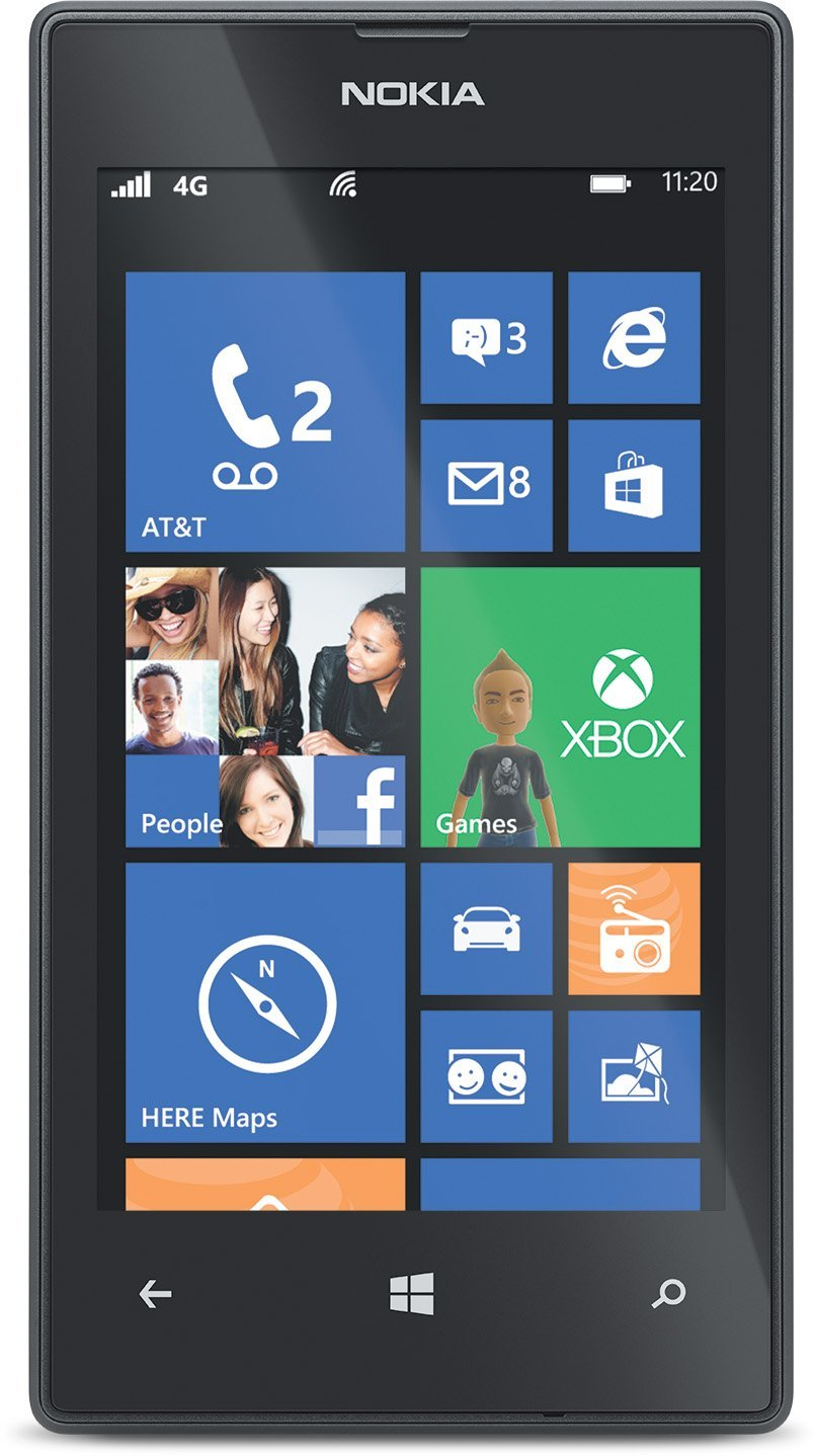 Nokia Lumia 520 Screen Size